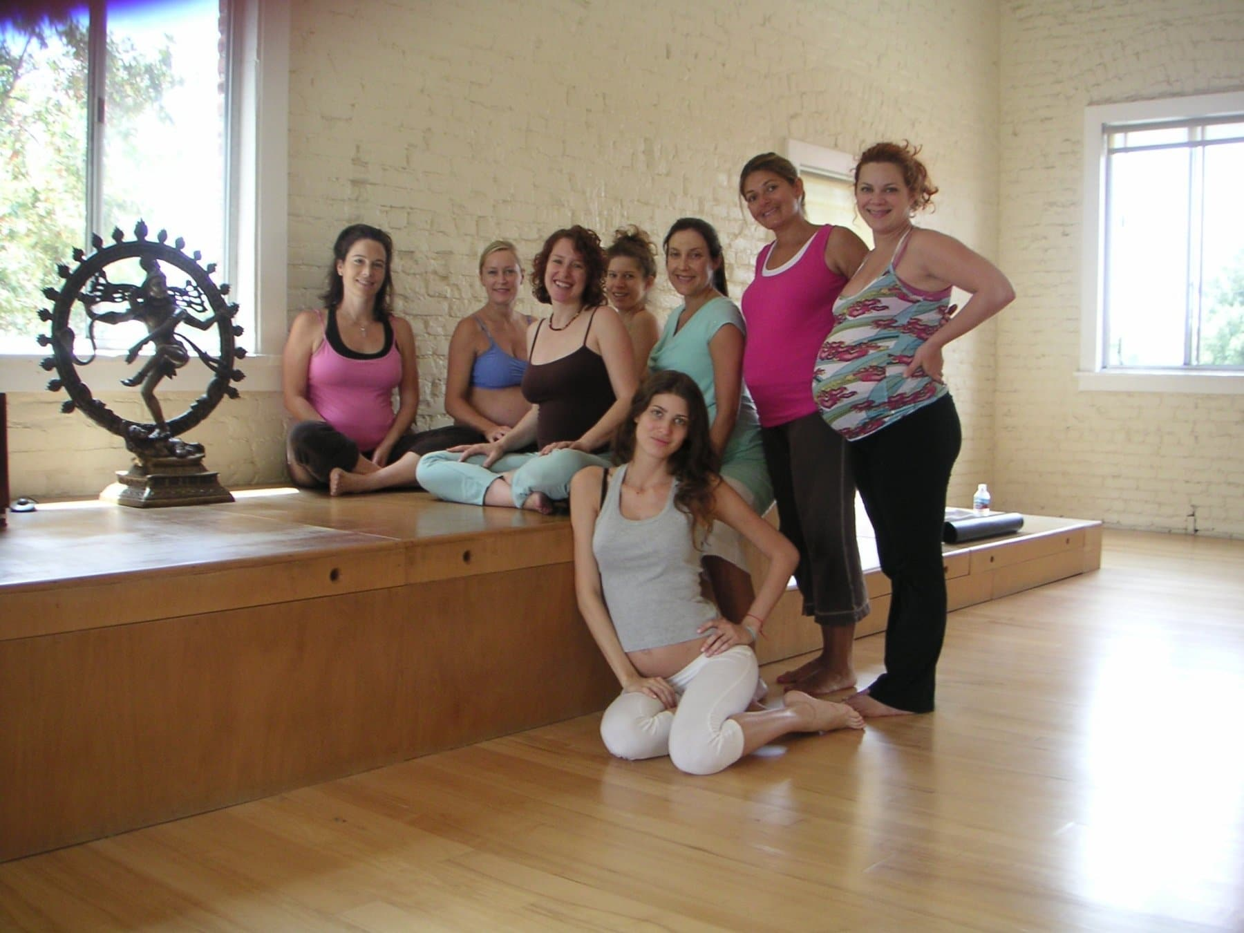 Prenatal Yoga class Jess Jennings City Yoga