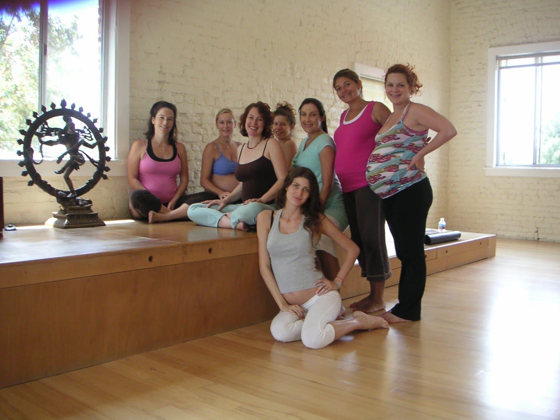Prenatal Yoga class Jess Jennings City Yoga