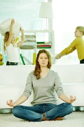 online meditation practice for moms
