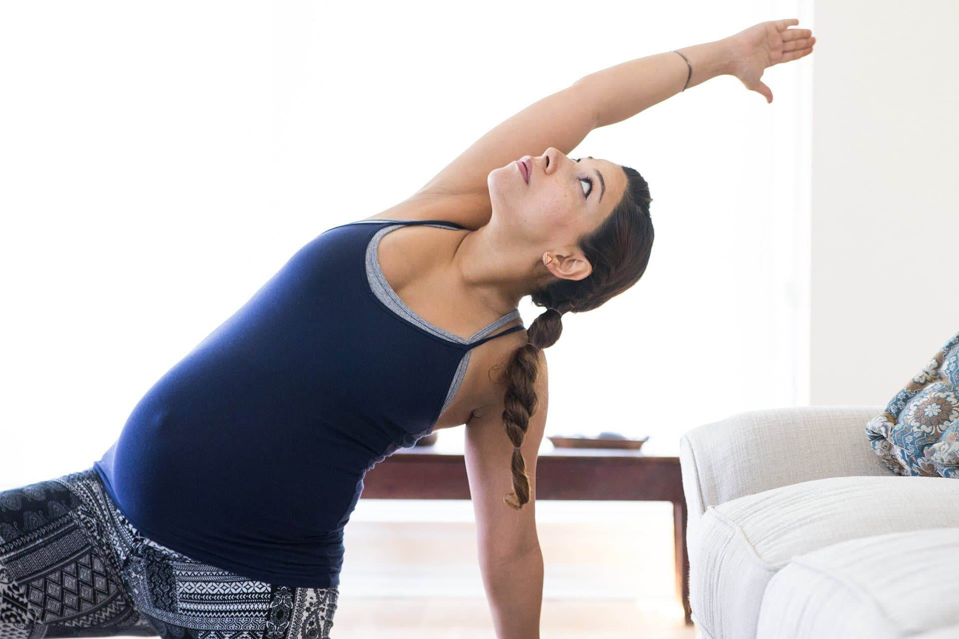 Prenatal yoga relieves anxiety