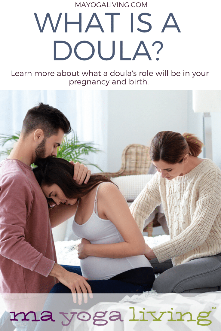 What is a doula? Couple using doula.
