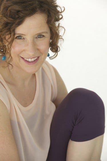 Jessica Jennings, MS, mom and prenatal yoga teacher, founder of Ma Yoga