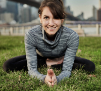 Ma Yoga teacher Ash Silver